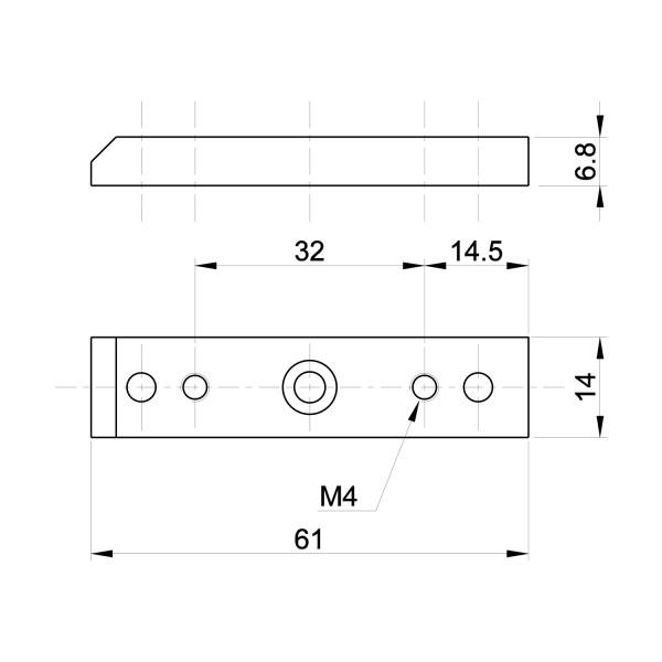 Zwischenplatten UL4/ULH4