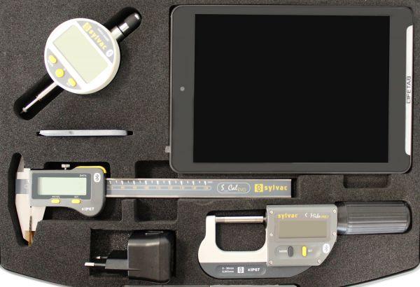Kofferset Bluetooth Messuhr Messschieber Bügelmessschraube