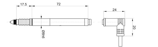 P5L Kapazitive Messtaster
