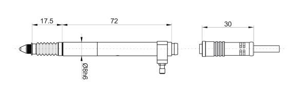 P5V Kapazitive Messtaster Vakuum Abheber