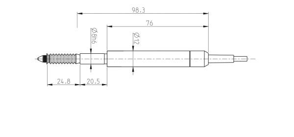 P10S Kapazitive Messtaster