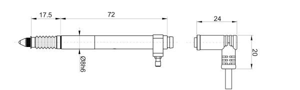 P5VL Kapazitive Messtaster Vakuum Abheber